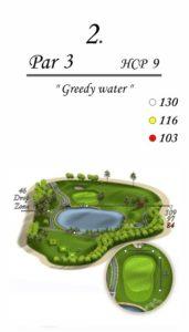 Karolinka Golf Park - dołek 2