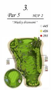Karolinka Golf Park - dołek 3