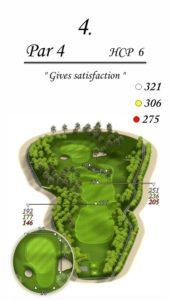 Karolinka Golf Park - dołek 4