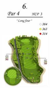 Karolinka Golf Park - dołek 6