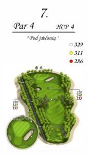 Karolinka Golf Park - dołek 7
