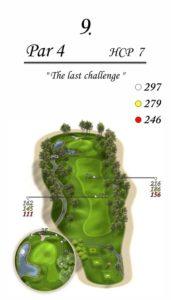 Karolinka Golf Park - dołek 9