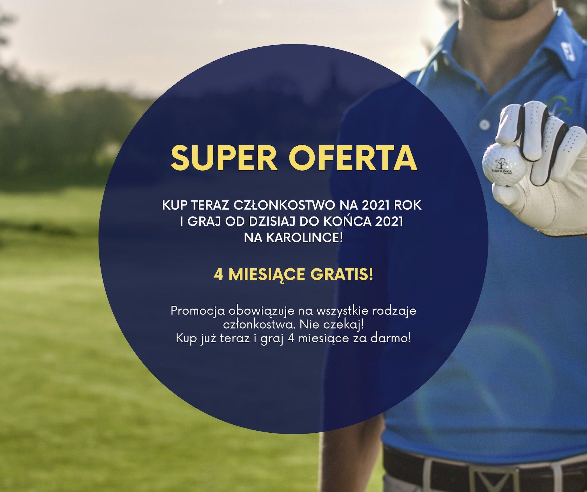 Promocja na członkostwo golf
