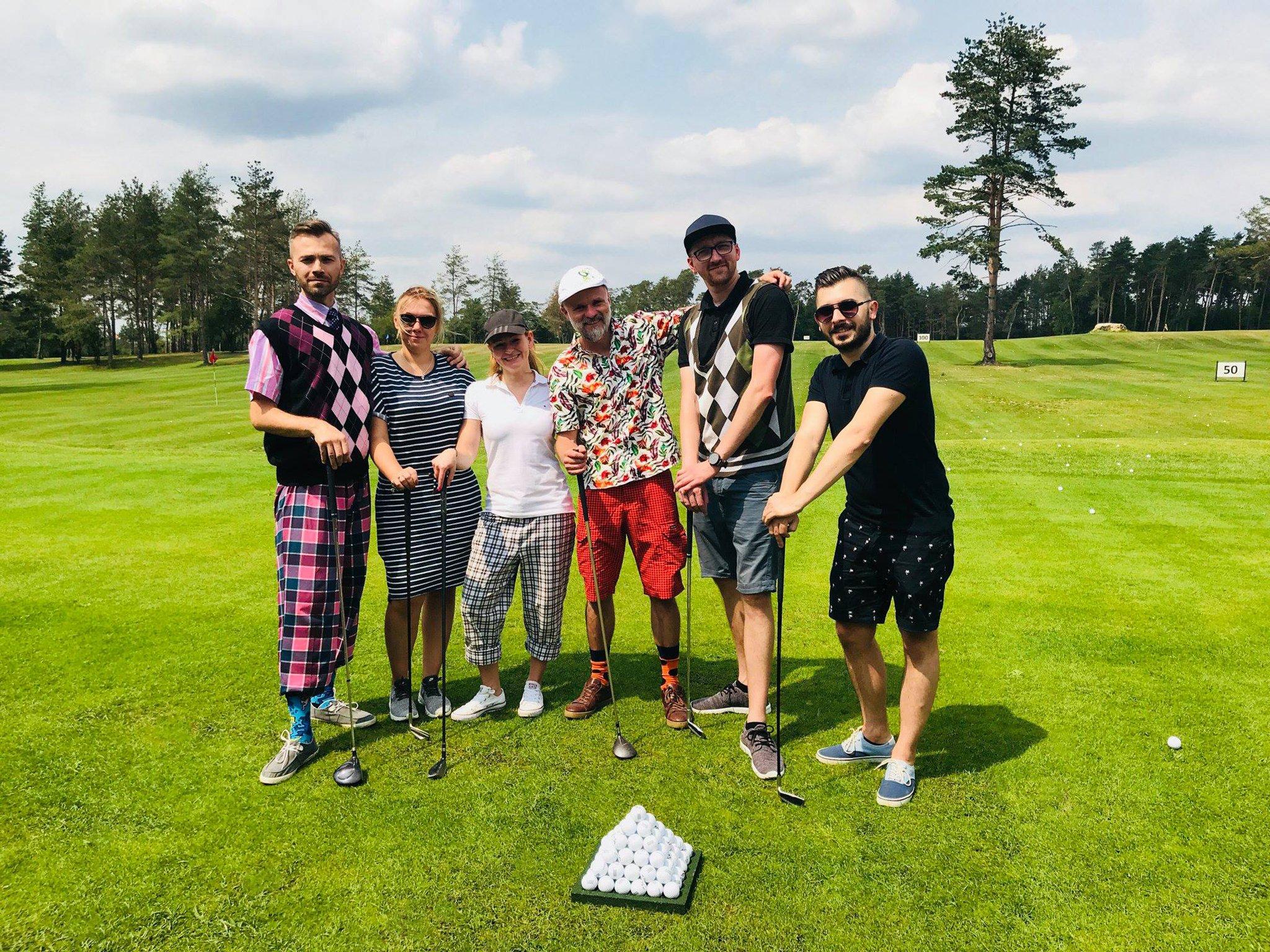 Akademia golfa zajęcia grupowe Karolinka