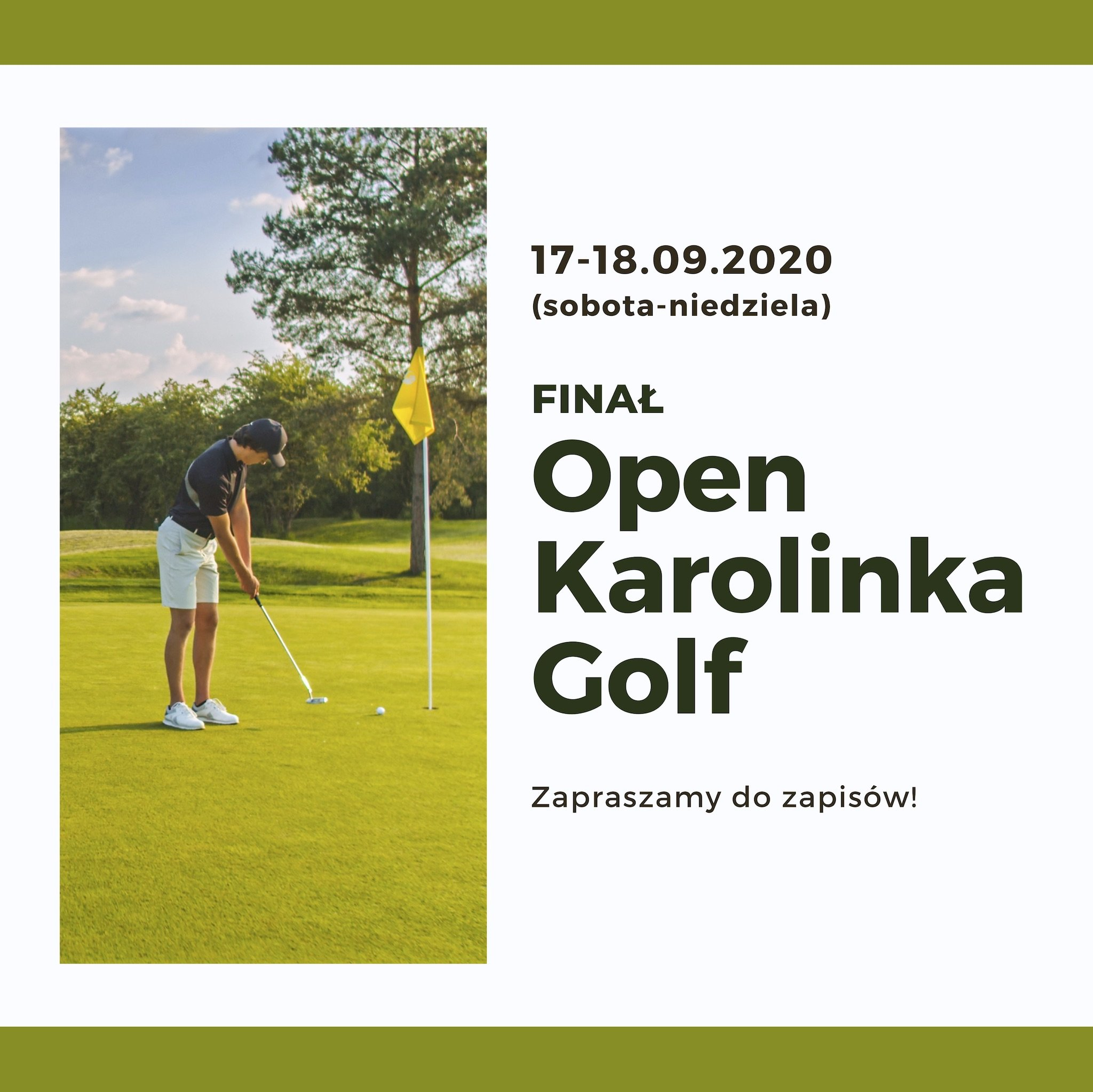 Finał open Karolinka Golf