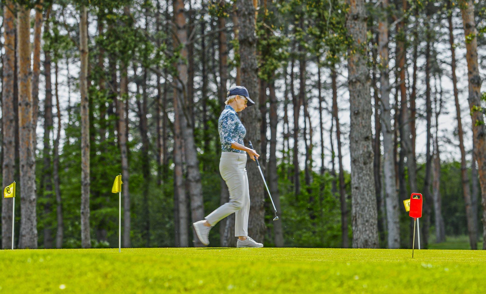 Pakiet lekcji golfa z trenerem