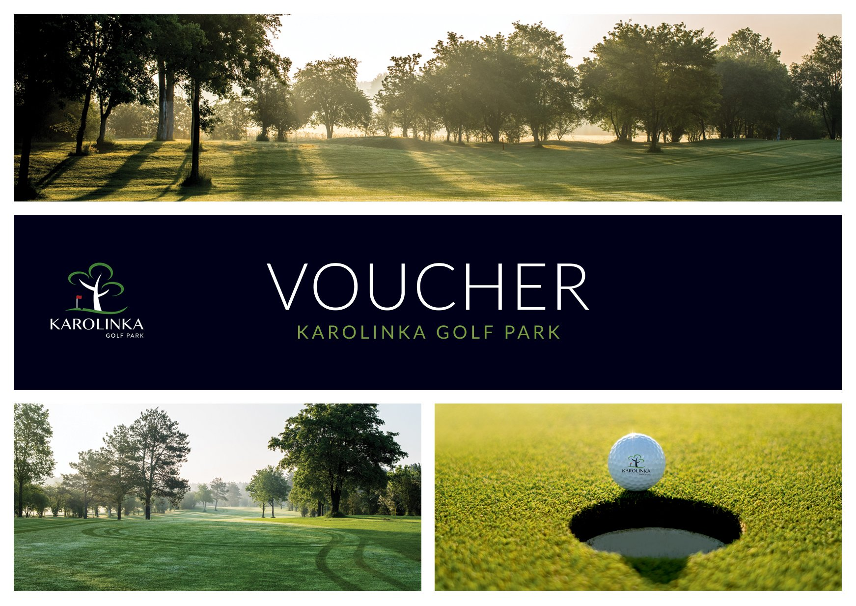 Voucher Karolinka Golf Park