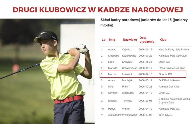 Marcin Łukasiuk kadra