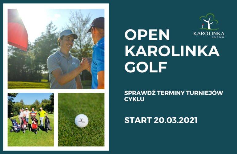 Cykl turniejów Open Karolinka Golf 2021