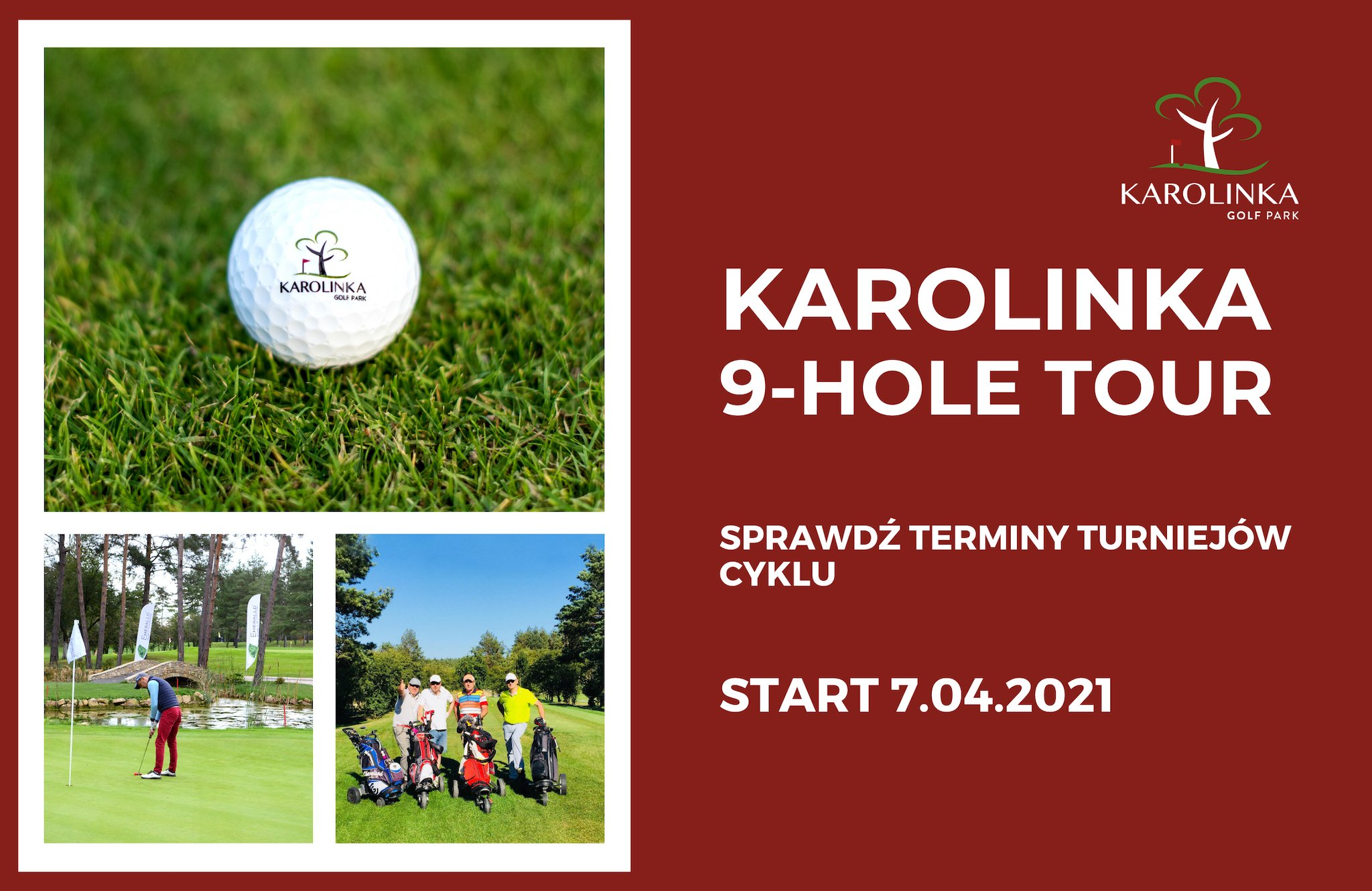 Turnieje Karolinka 9-hole tour