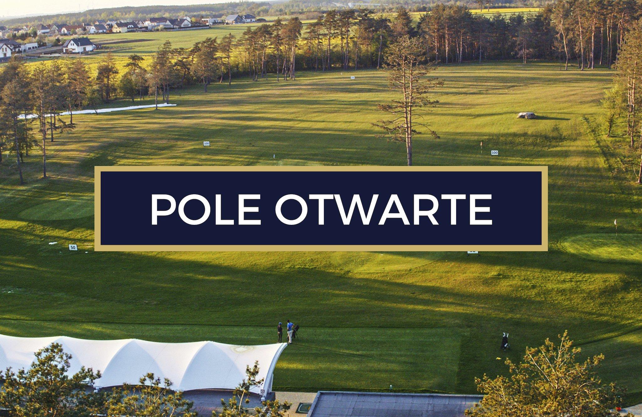 Pole golfowe Karolinka Golf Park otwarte