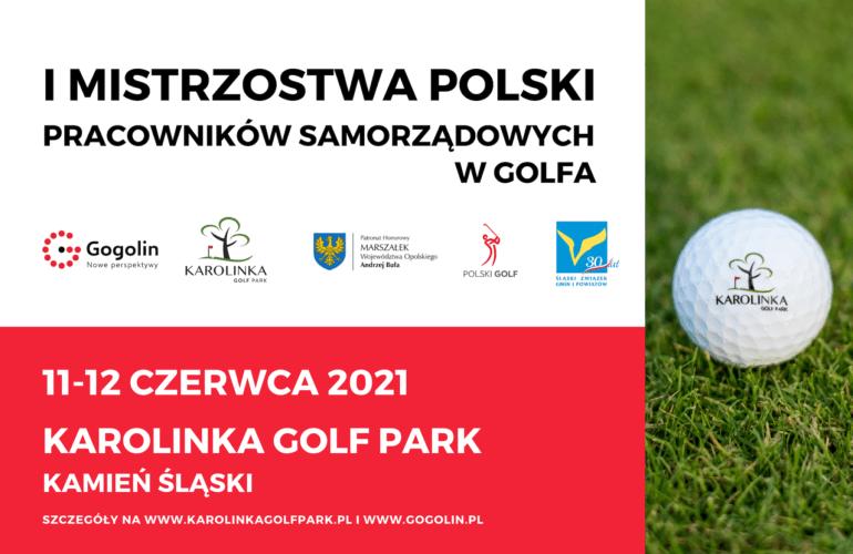 Mistrzostwa Polski Pracowników Samorządowych w Golfa