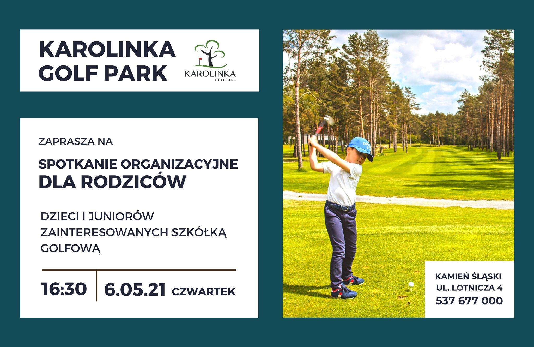 Spotkanie organizacyjne - szkółka golfowa